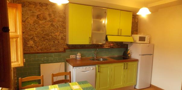 Cocina apartamento Covadonga